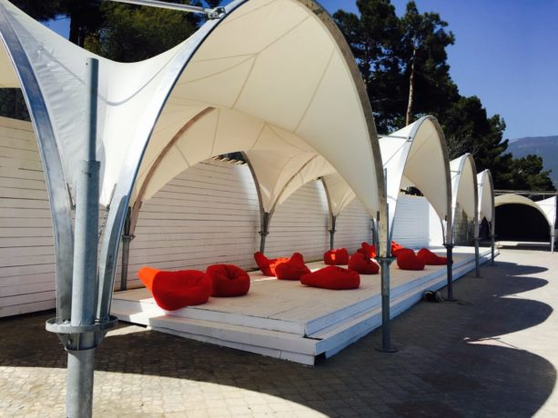 Арочный шатер 3,5×3,5