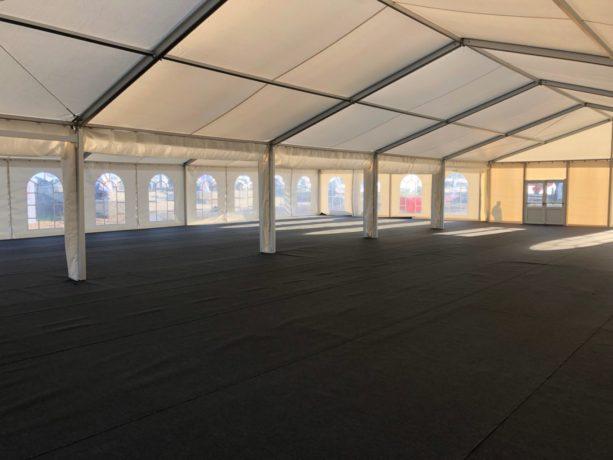 Двускатный шатер 10х25