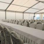 Двускатный шатер 10х30