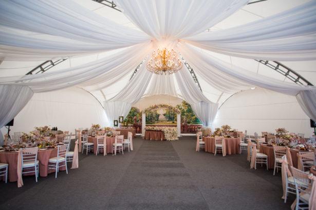 Декор шатра 260 кв.м