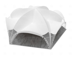 tent 20x175 geksagonal