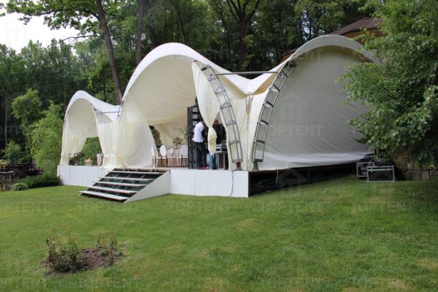 Арочный шатер 10х10