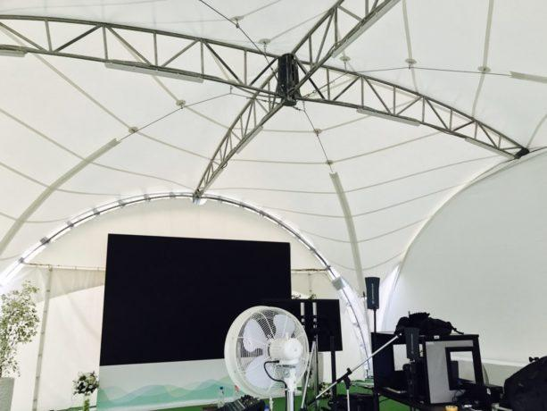 Арочный шатер 8х8 (ВИП)