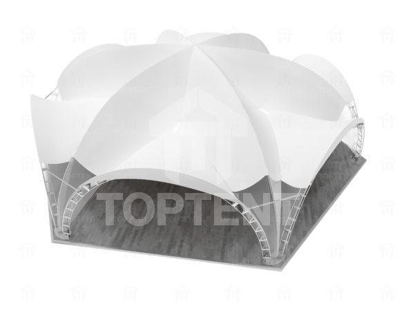 Арочный шатер 20×17,5 (Гексагональ)