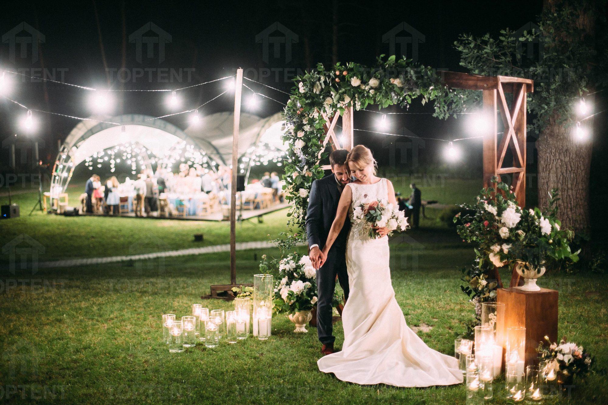 шатры и тенты на свадьбу в аренду в Киеве